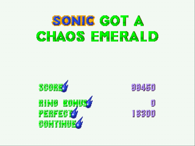 Sonic 3 Complete - another emerald! - User Screenshot
